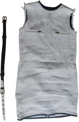 Celine Beige Linen Dresses