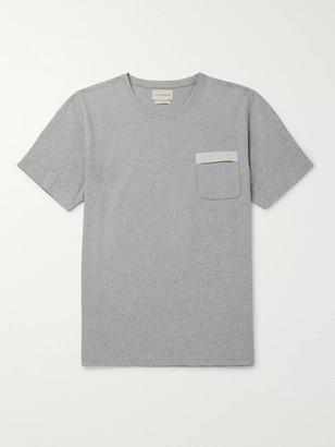 Oliver Spencer Melange Organic Cotton-Jersey T-Shirt - Men - Gray