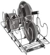 Lynk Professional Roll-Out Steel Cookware Organizer