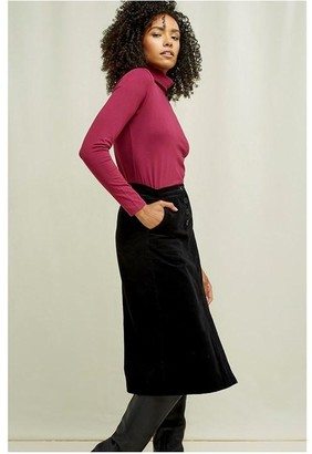 People Tree Laila Roll Neck - 14 / Berry