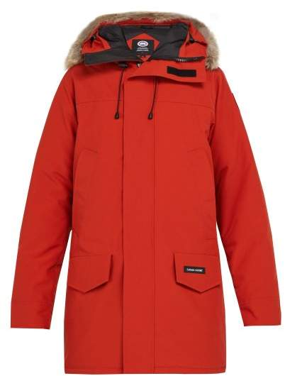 Canada Goose Langford Down Parka - Mens - Red