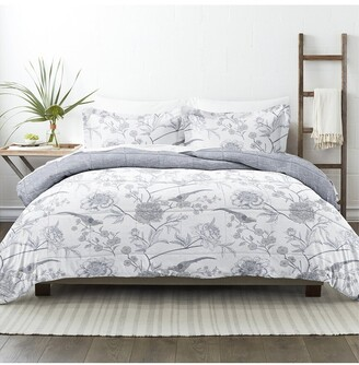 Home Collection Down Alt Molly Botanicals Reversible Comforter Set