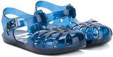 Boss Kids - logo sole jelly shoes - kids - rubber - 19
