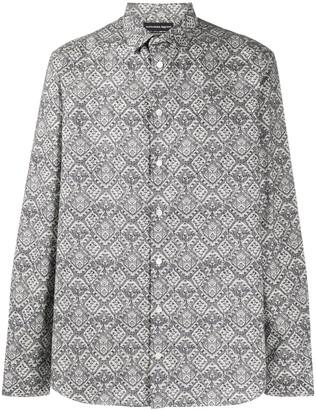 Alexander McQueen Patterned Button-Up Shirt