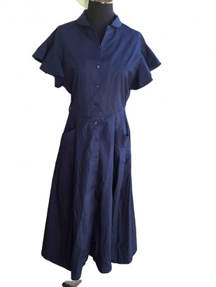 Tara Jarmon Blue Cotton Dresses