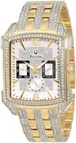 Bulova Men's Crystal Striking Visual Design Watch 98C109