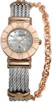 Charriol Women's Swiss St-Tropez Two-Tone Steel Cable Chain Bracelet Watch (25mm)