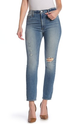 Black Orchid Joan High Waist Straight Leg Jeans