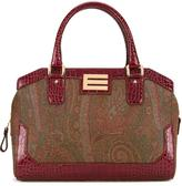 Etro double strap medium tote