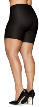 Hanes Women's Curves Comfort Slip Shorts