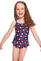 Zoggs Toddler Girls Ladybug X Back Swimdress