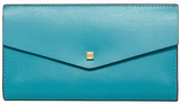 Lodis Amanda Leather Continental Clutch