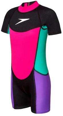 Speedo Toddler Girls Neoprene Suit
