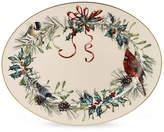 "Lenox Dinnerware, 16"" Winter Greetings Platter"