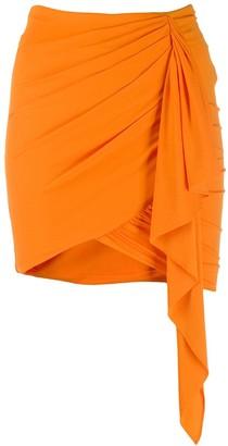 Alexandre Vauthier draped mini skirt
