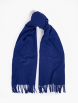 A.P.C. Blue Cashmere-Blend Scarf