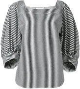 Chloé striped knitted top - women - Cotton - 36