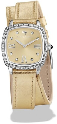David Yurman Albion Diamond & Stainless Steel Watch