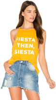 The Laundry Room But First Siesta High Neck Tank