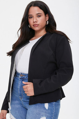 Forever 21 Plus Size Ball-Chain Blazer