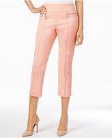 Style&Co. Style & Co Pull-On Jacquard Capri Pants, Only at Macy's