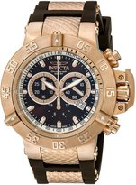 Invicta Men's 5510 Subaqua Collection Rose Gold-Tone Chronograph Watch