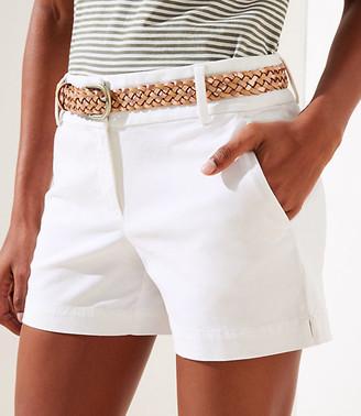 LOFT Riviera Shorts with 4 Inch Inseam
