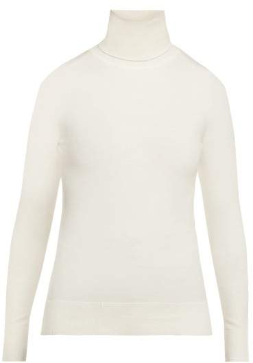 ba7588eedb67d7 Cotton Roll Neck Sweater - ShopStyle