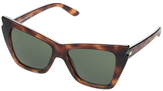Le Specs Rapture (Toffee Tortoise/Khaki Mono) Fashion Sunglasses