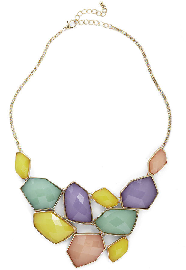 Treasured Friend Necklace in Pastels