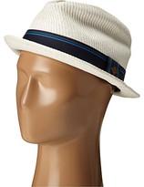 San Diego Hat Company SDH2031 Fedora w/ Blue Stripe Ribbon Band