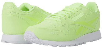 Reebok Classic Leather (Electric Flash/White) Men's Shoes