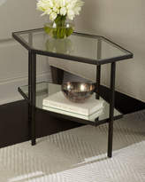 Global Views Fatima Hexagon Side Table
