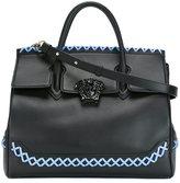 Versace woven 'Palazzo Empire' bag