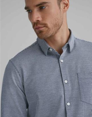 Club Monaco Striped Knit Shirt
