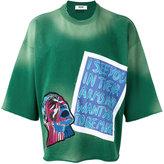 MSGM head patch sweatshirt - men - Cotton - M