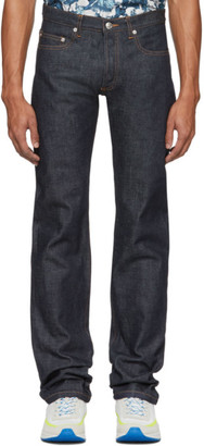 A.P.C. Indigo Raw New Standard Jeans