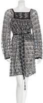 Missoni Belted Knit Dress