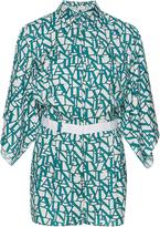 Lanvin Kimono Sleeve Playsuit