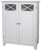 Elegant Home Fashions Virgo White 2-door Floor Cabinet by