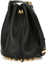 Alexander Wang 'Alpha' bucket crossbody bag - women - Leather/Metal (Other) - One Size