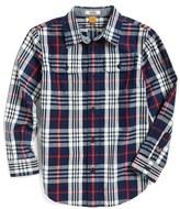 Tailor Vintage Toddler Boy's Plaid Woven Shirt