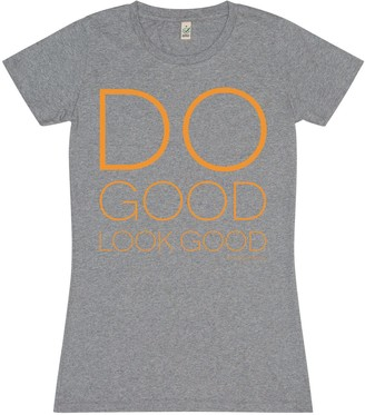 Bo Carter Do Good Look Good T-Shirt- Grey
