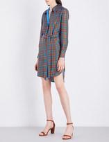 Diane von Furstenberg Collared silk shirt dress