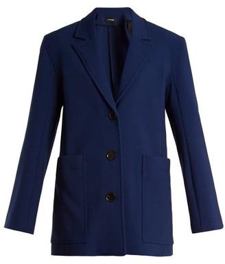 Kwaidan Editions Torrance Single-breasted Jacket - Navy