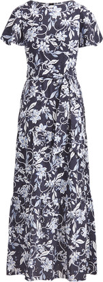 Ralph Lauren Floral Cotton A-Line Dress