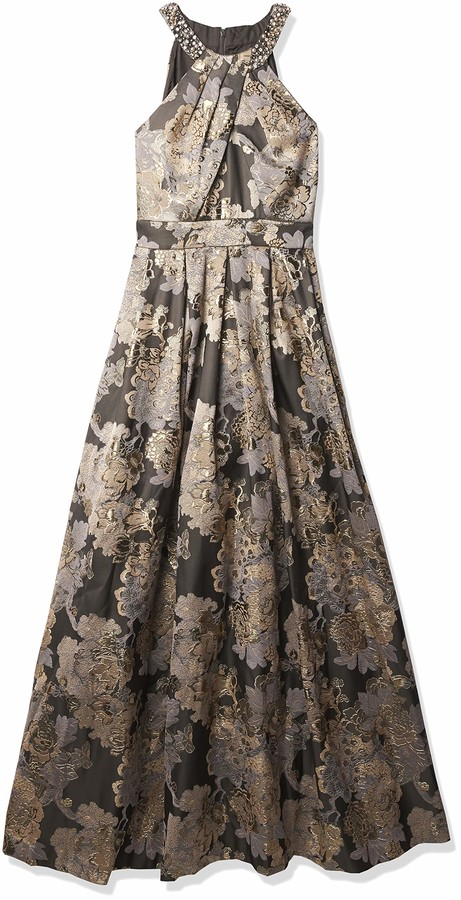 Thumbnail for your product : Eliza J Women's Beaded Neck Ballgown