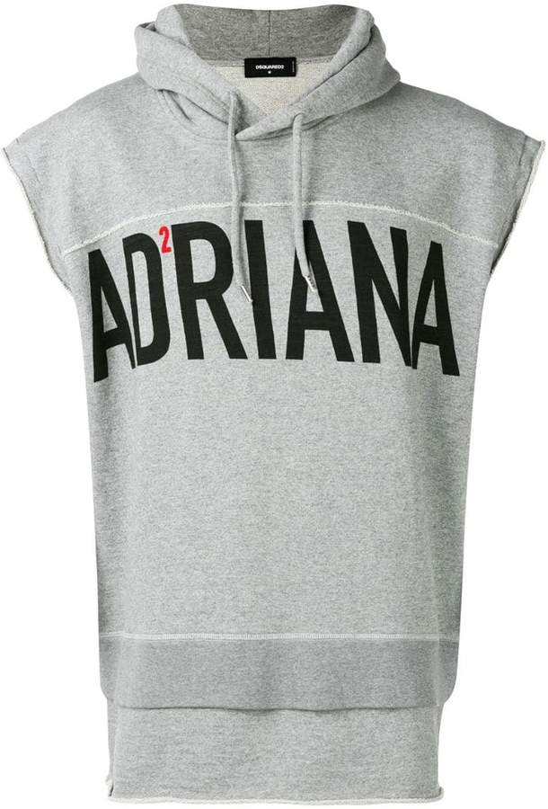 DSQUARED2 short-sleeved hoodie