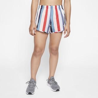Nike Big Kids' (Girls') Running Shorts Dri-FIT Tempo