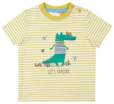 John Lewis Crocodile Explore T-Shirt, Green